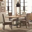 Scott Living Thompson 5 Piece Dining Package - Item Number: 107561+4x103803