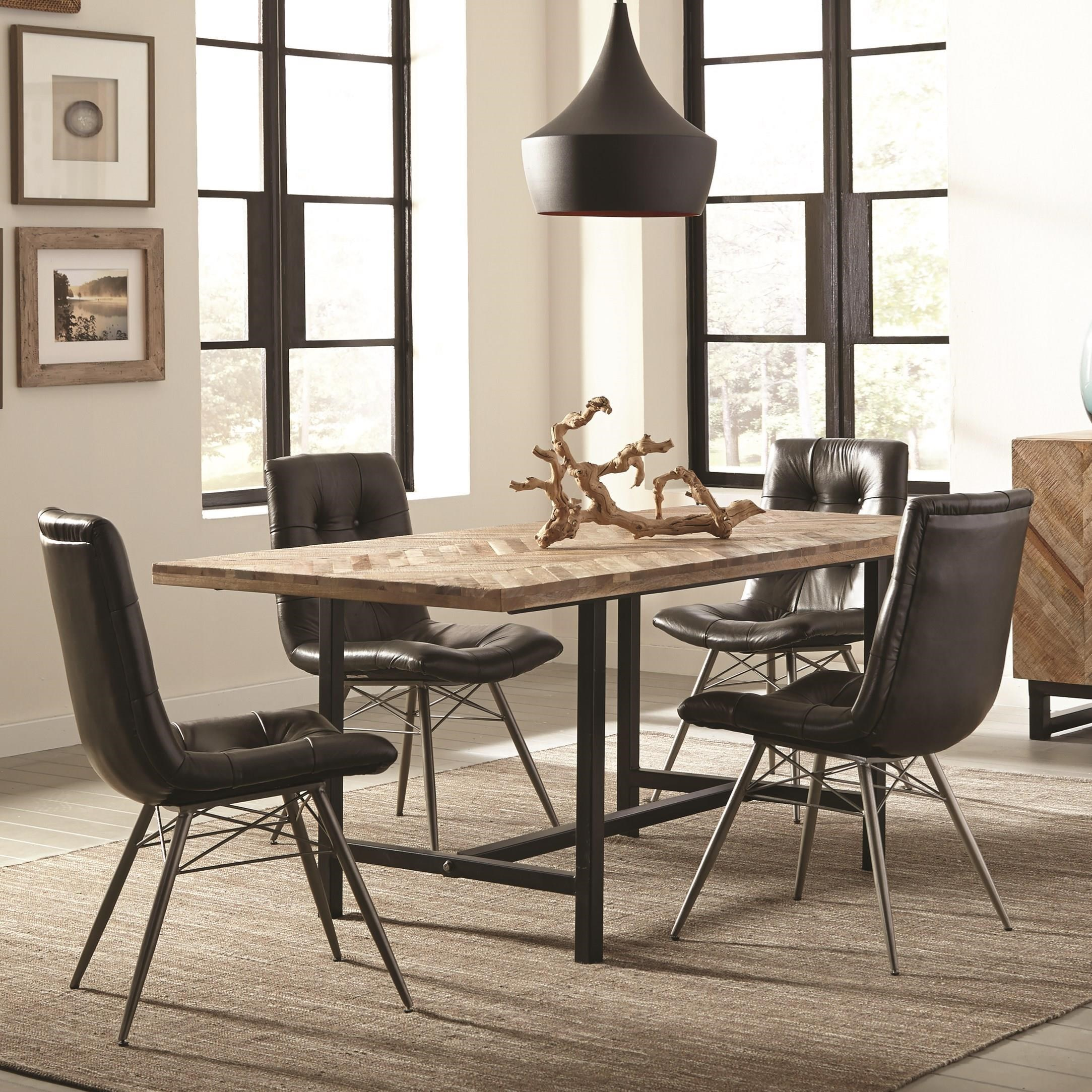 Living And Dining Room Sets: Scott Living Thompson Bohemian Table And Chair Set