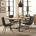 Scott Living Thompson Table and Chair Set - Item Number: 107561+4x107852