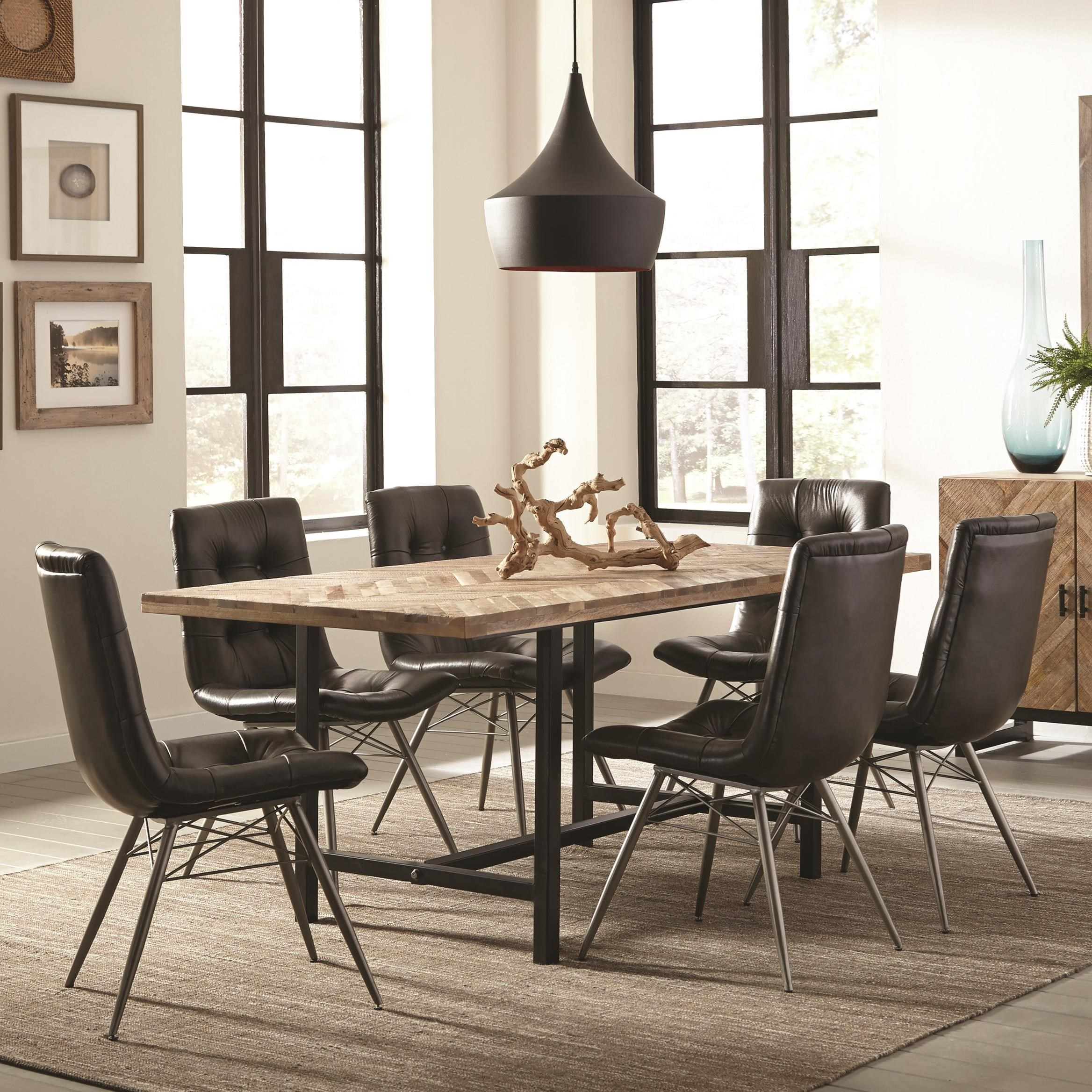 Table and Six Chair Set