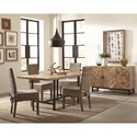 Scott Living Thompson Rustic Dining Room Group - Item Number: Thompson Dining Room Group 1