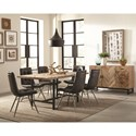 Scott Living Thompson Rustic Dining Room Group - Item Number: Thompson Dining Room Group 3