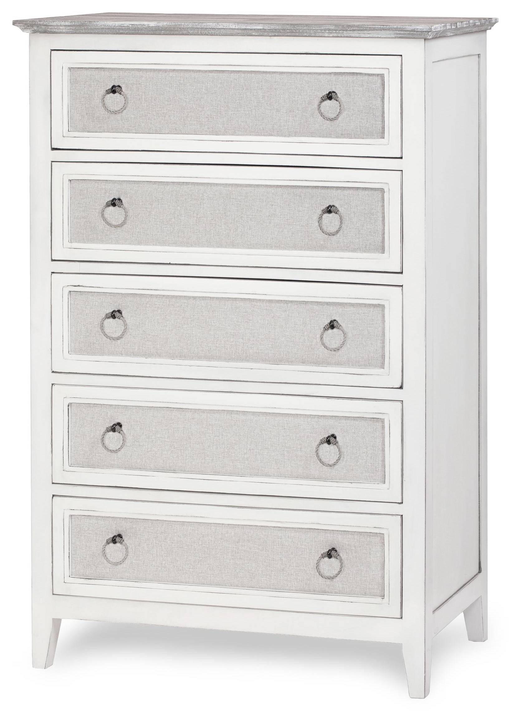 Captiva Island five drawer chest by Sea Winds Trading Company at Johnny Janosik