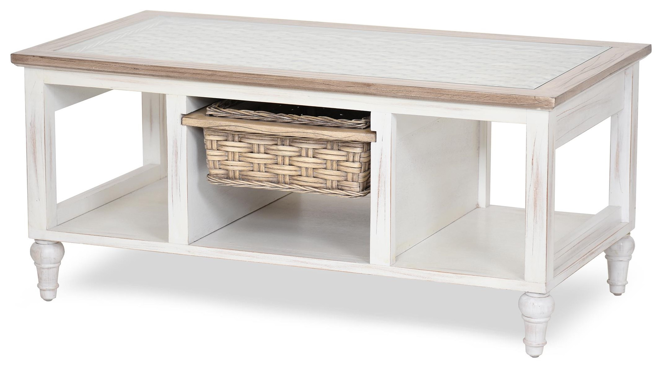 island breeze coffee table by Sea Winds Trading Company at Johnny Janosik