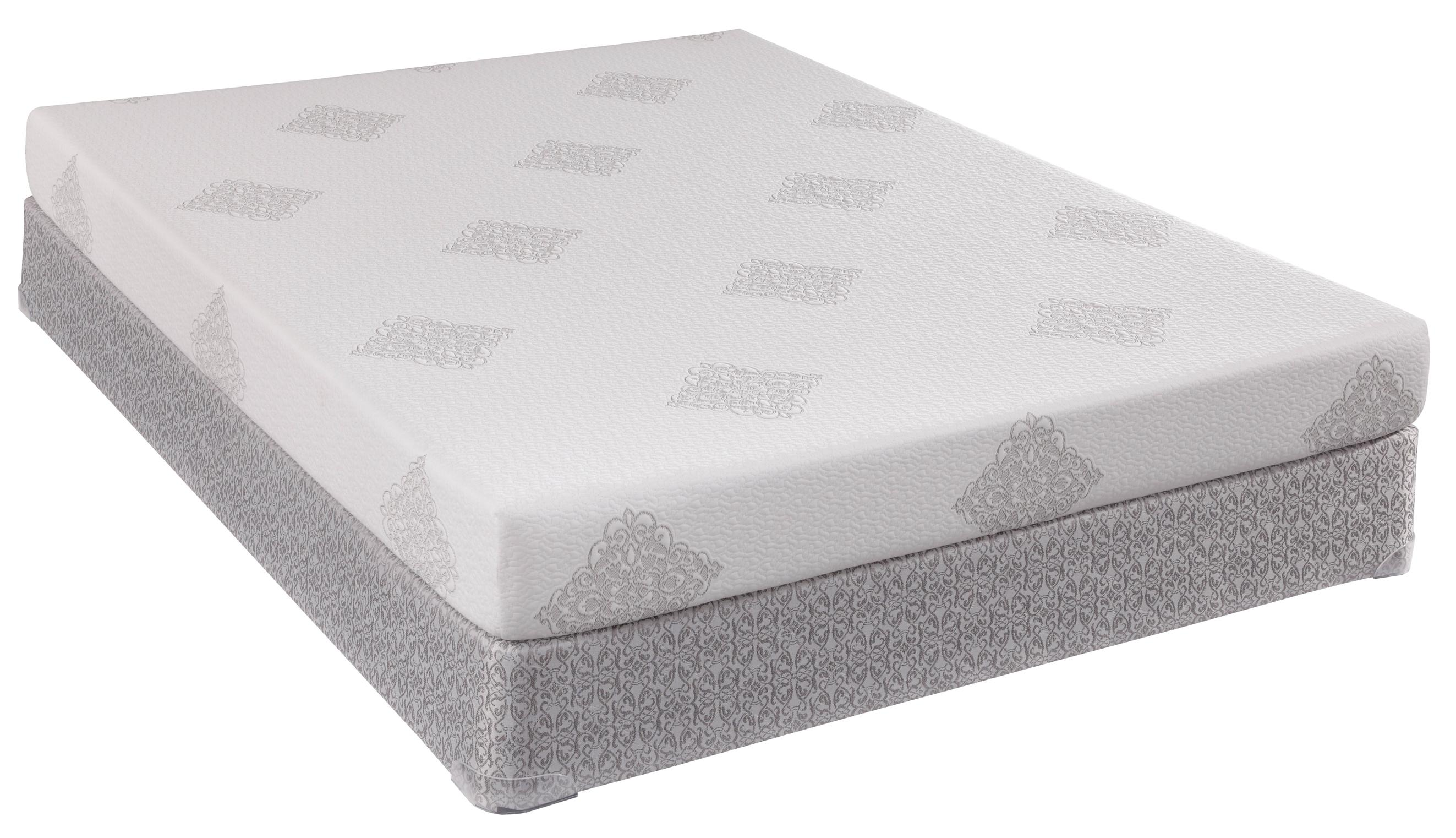 Sealy Comfort Series Boca Breeze Twin Mattress and Low Profile Box Spring - Item Number: 501187T+646949T