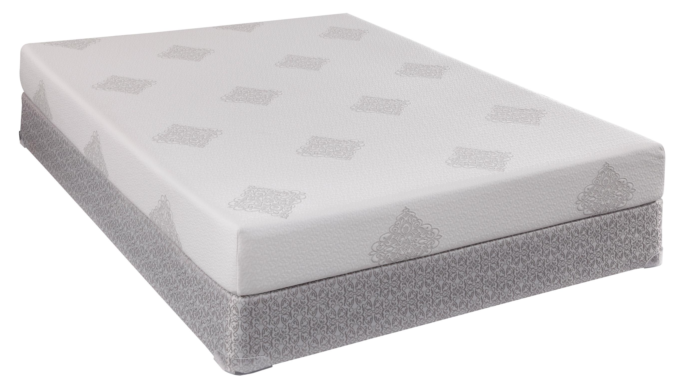 Sealy Comfort Series Ocean Pointe Queen Memory Foam Mattress Set - Item Number: 501188Q+646948Q