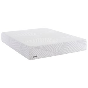 "Sealy Treat Queen 10"" CF Gel Memory Foam Mattress"