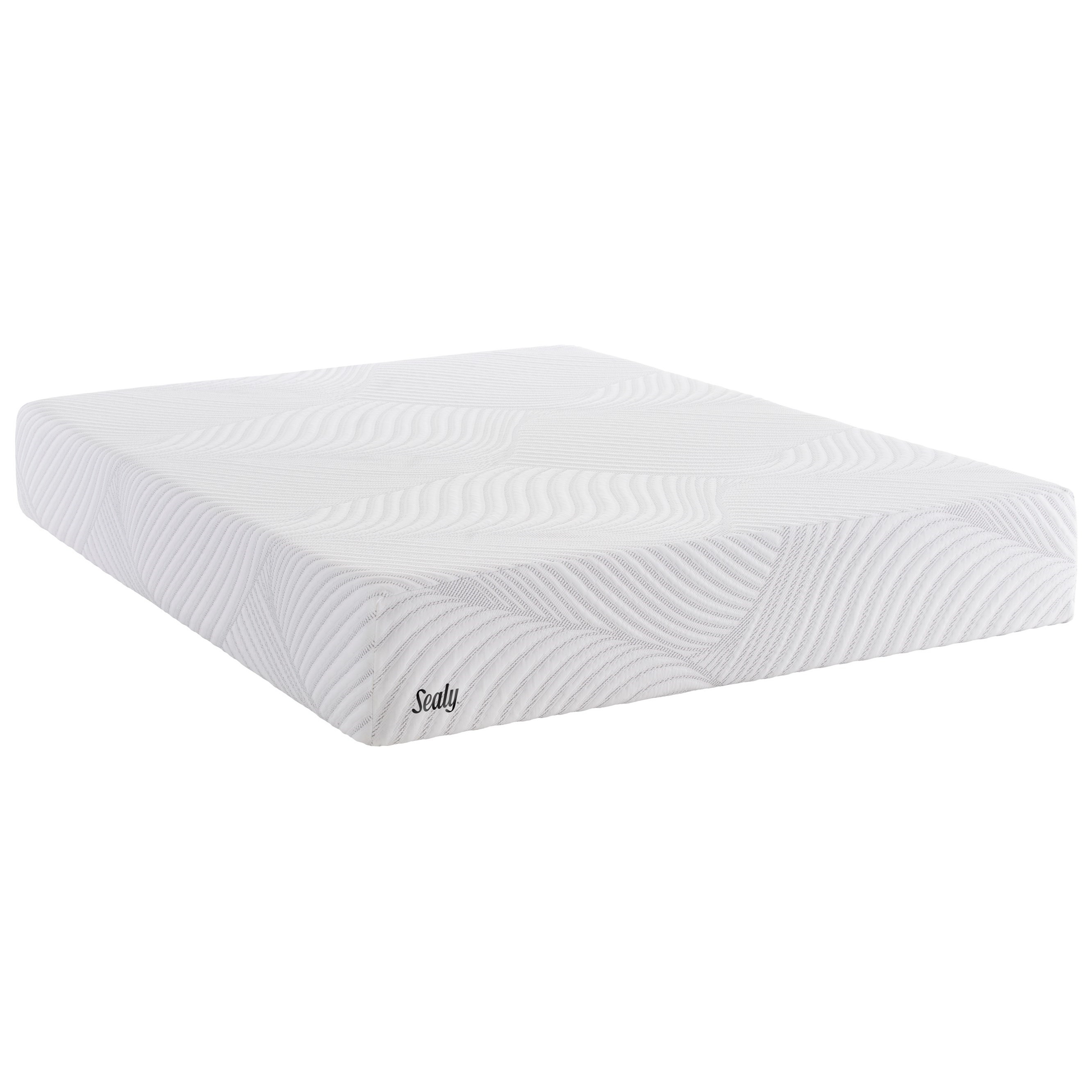 "Upbeat Cal King 9"" Gel Memory Foam Mattress"