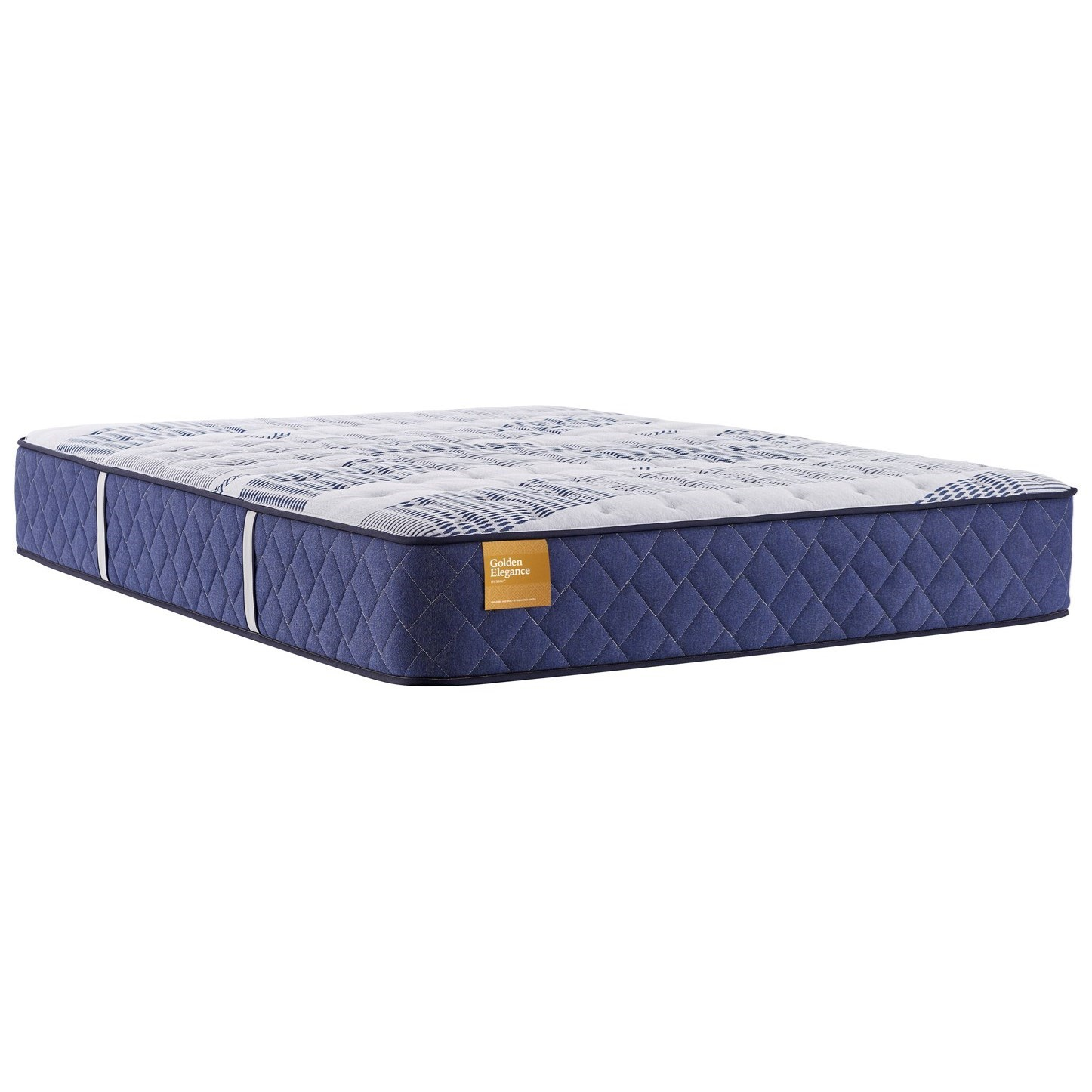 "Etherial Gold Plush TT B4 Queen 12 1/2"" Plush Mattress by Sealy at Beck's Furniture"