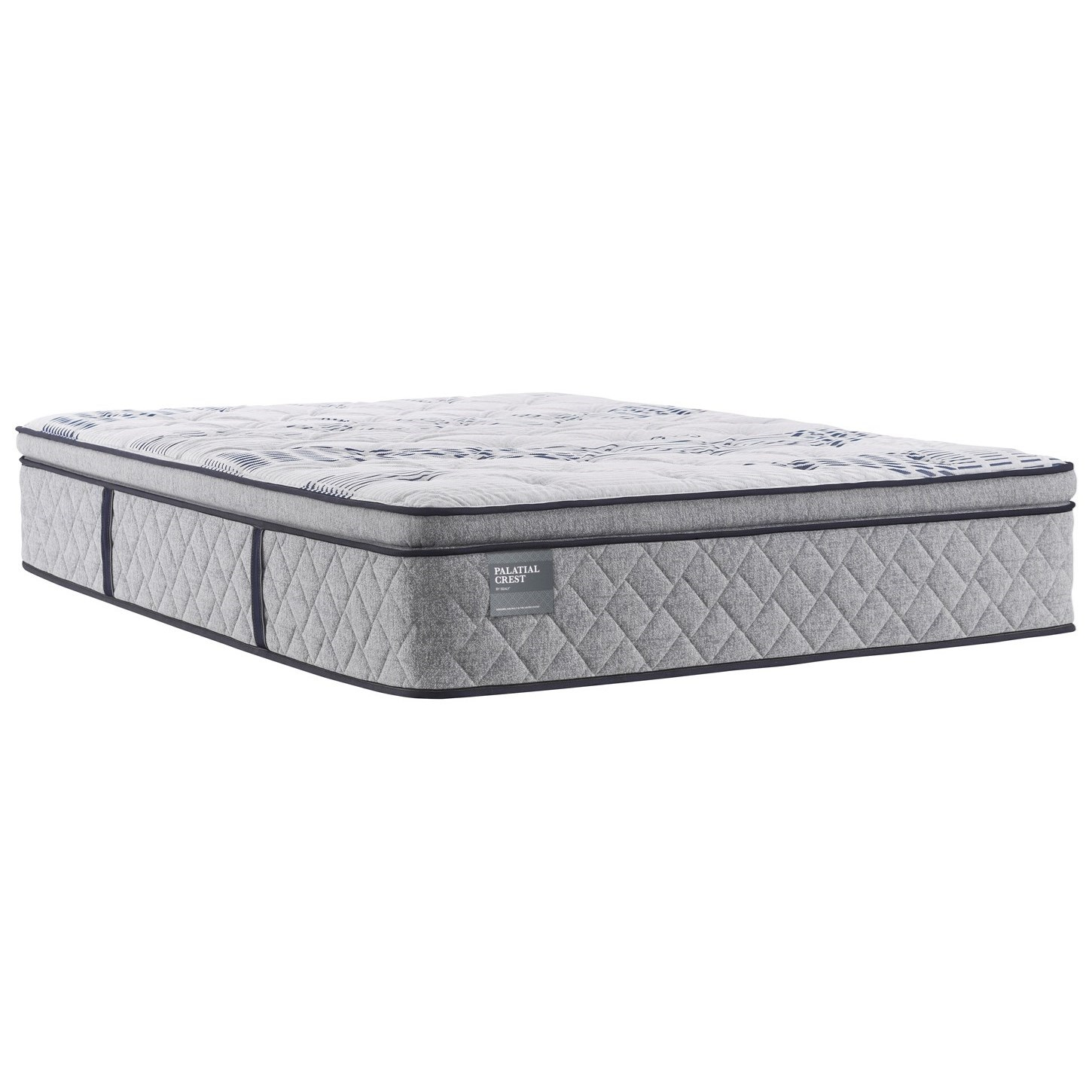 "Surrey Lane Twin 15"" Plush PT Mattress by Sealy at Morris Home"