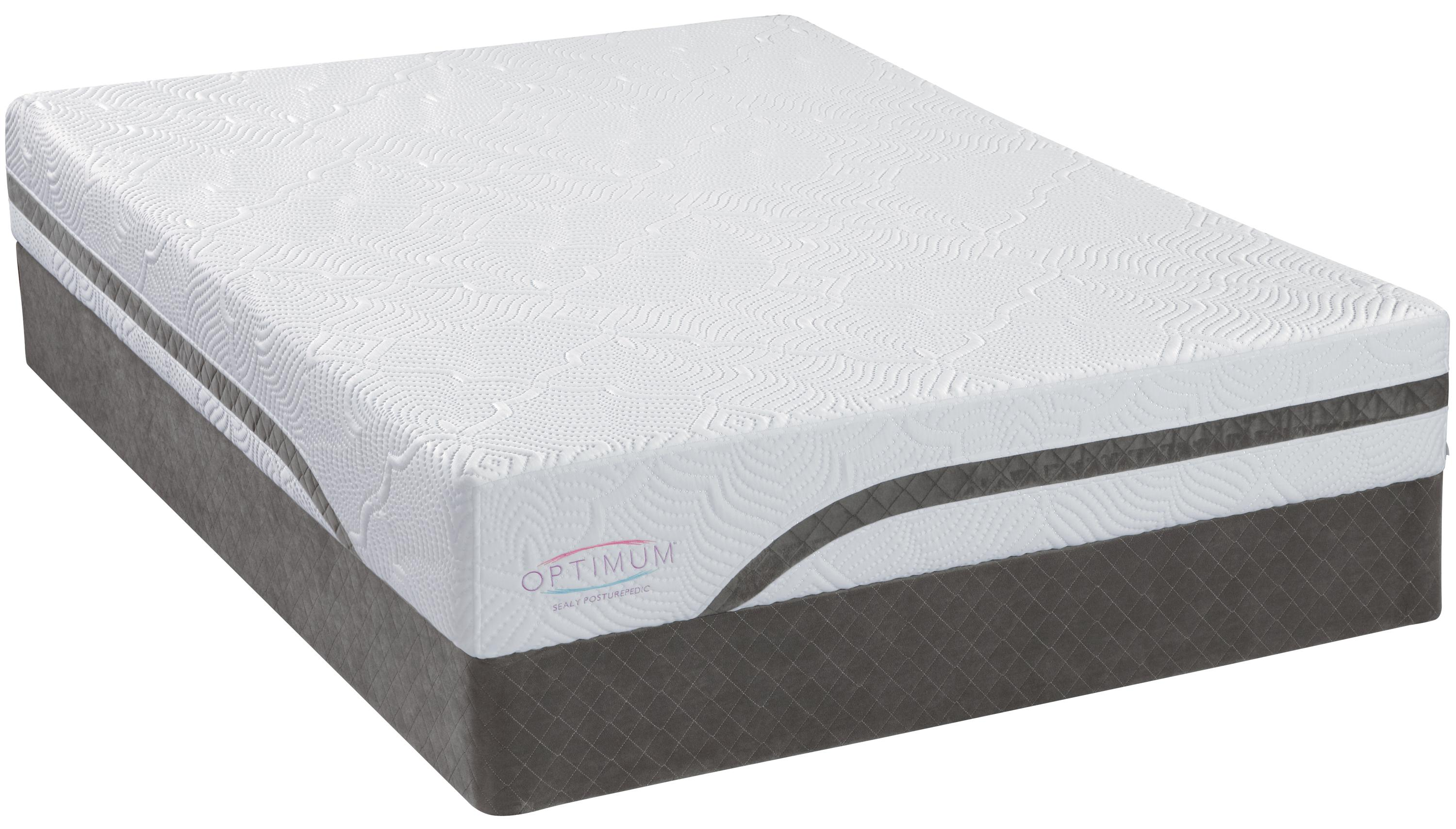 Sealy Optimum Latex Gel Dreams Queen Latex Mattress Set - Item Number: 508219Q+617719Q