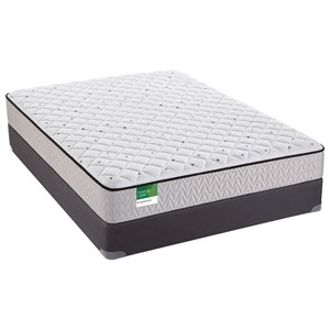 "Sealy Palatial Crest Knighthood Firm Twin 10 1/2"" Firm Innerspring Mattress Set"