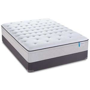 "Sealy Posturepedic 65 Year Anniversary Cushion Firm EPT Queen 13"" Cushion Firm EPT Mattress"