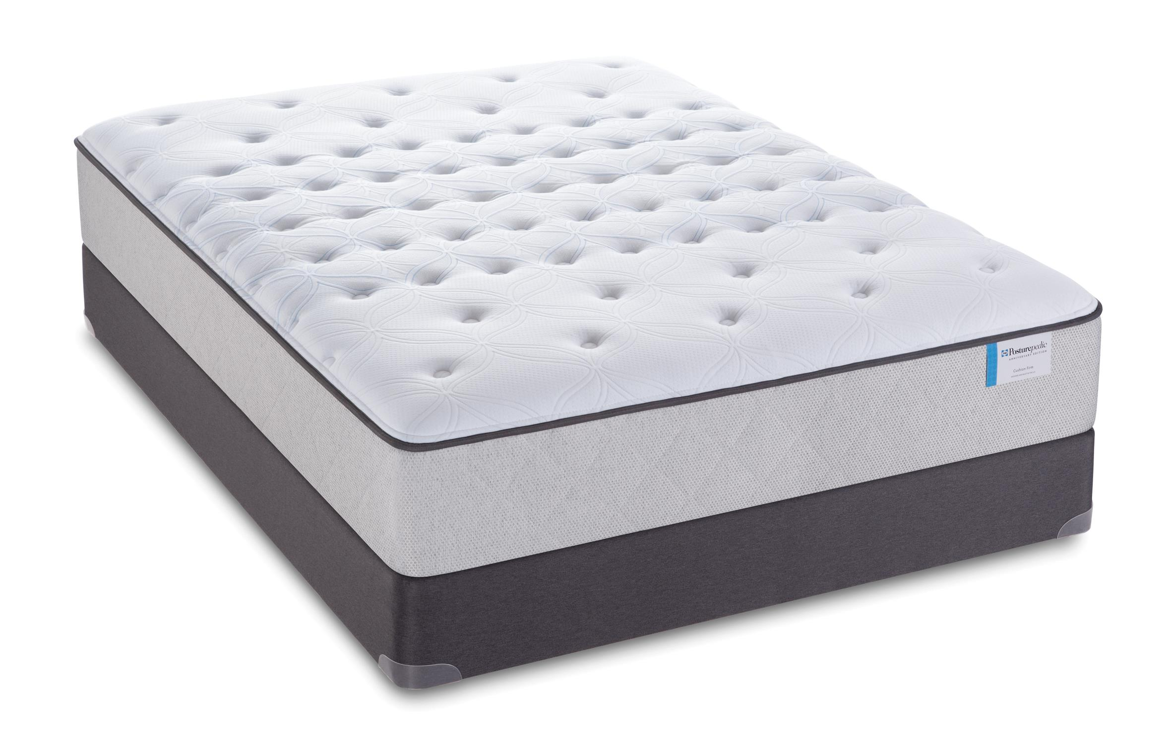 "Sealy Posturepedic 65 Year Anniversary Edition Full Firm 12"" Mattress Set, LP - Item Number: Firm12-F+SSLPFndtn-F"