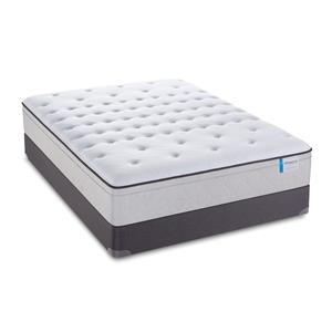 "Sealy Posturepedic 65 Year Anniversary Edition Queen 13"" Plush EPT Mattress Set, LP"