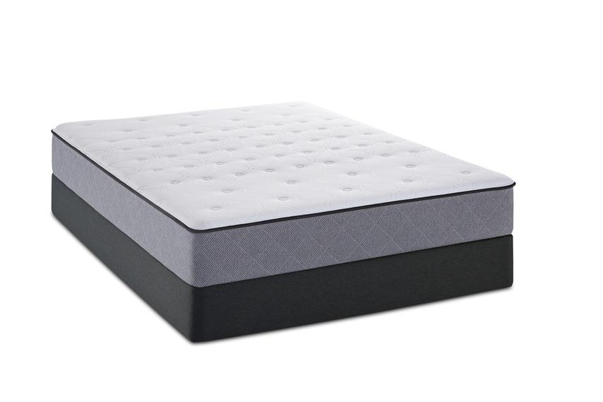 Sealy Metora Twin Mattress Set, LP - Item Number: Tighttop-T+SSLPFndtn-T