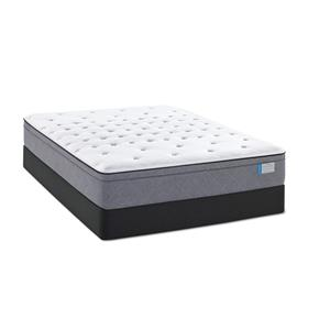Sealy Swansea Castle Queen CF FX Pillow Top Mattress Set