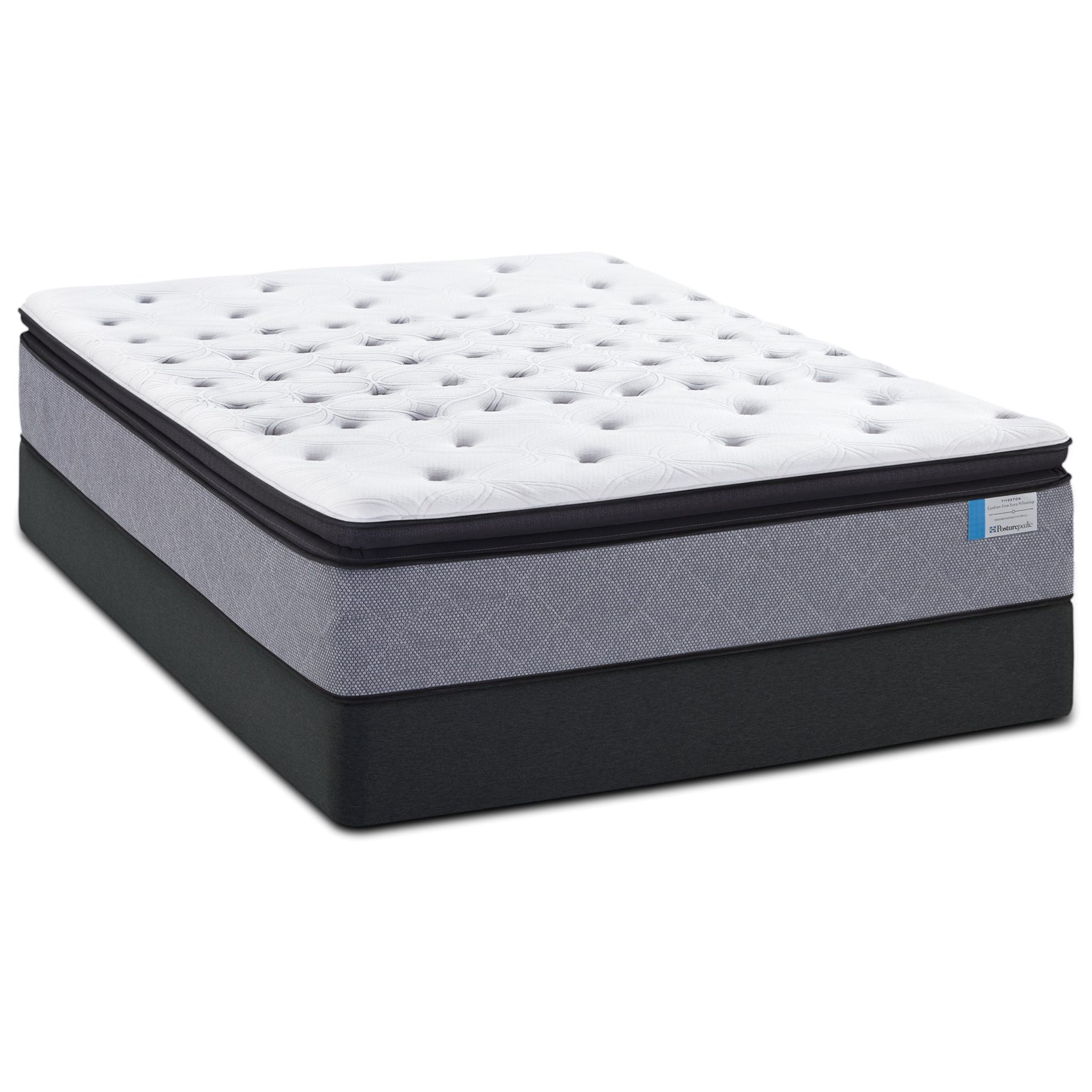 Sealy Norseland Queen CF EPT Mattress Set - Item Number: CushionFirmEPT-Q+613791-Q