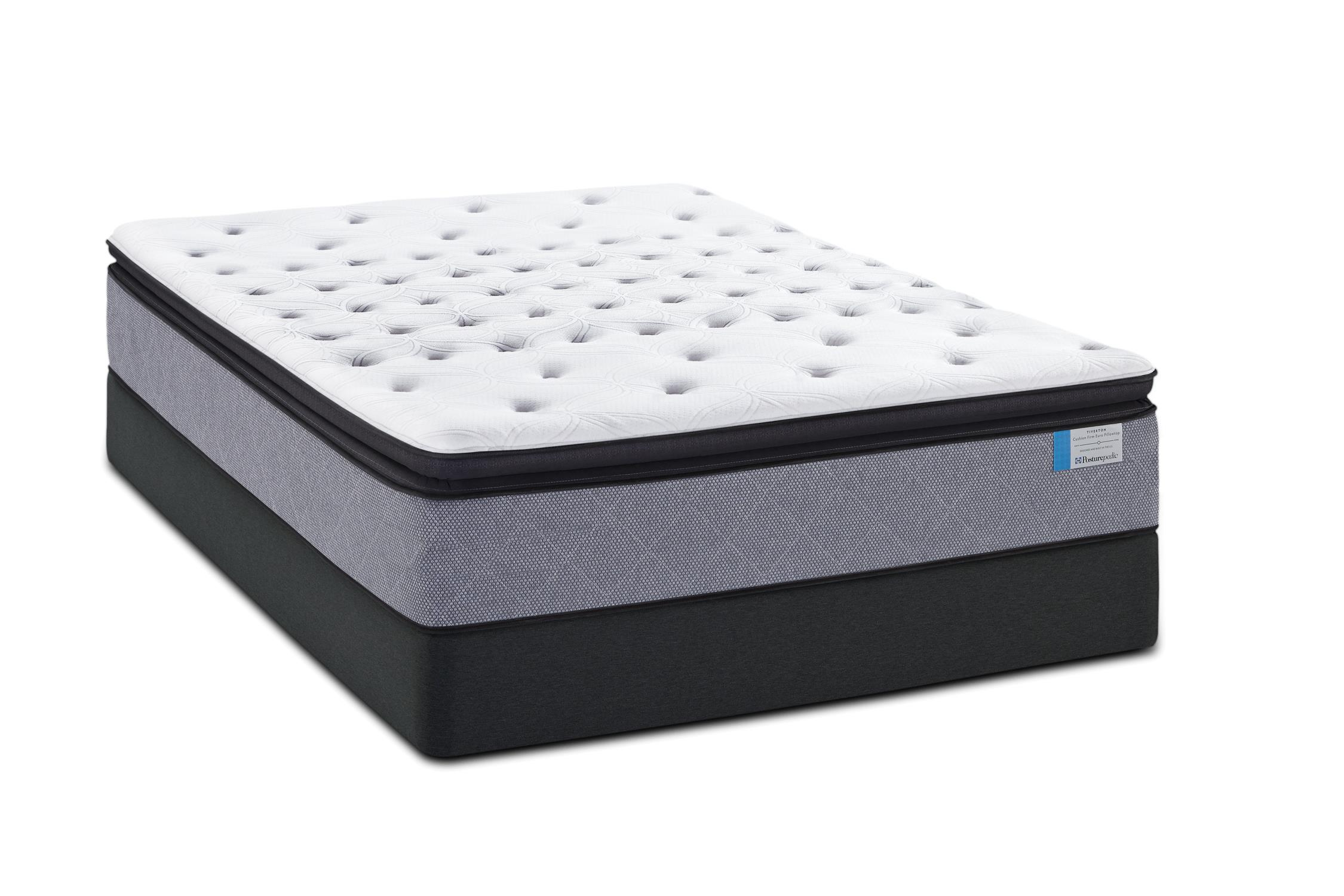 Sealy Posturepedic A2 Cal King EPT Plush Mattress Set - Item Number: PlushEPT-CK+2xSSfoundation-CK