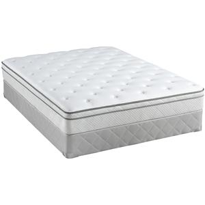 Sealy Posturepedic Classic 2013 Full Plush Euro Top Mattress Set