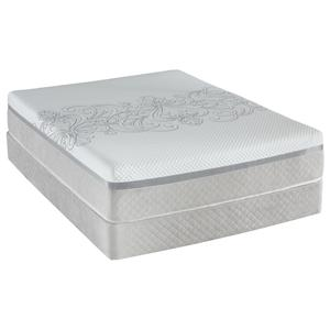 Sealy Posturepedic Hybrid Ability H4 Queen Firm Tight Top Mattress Set