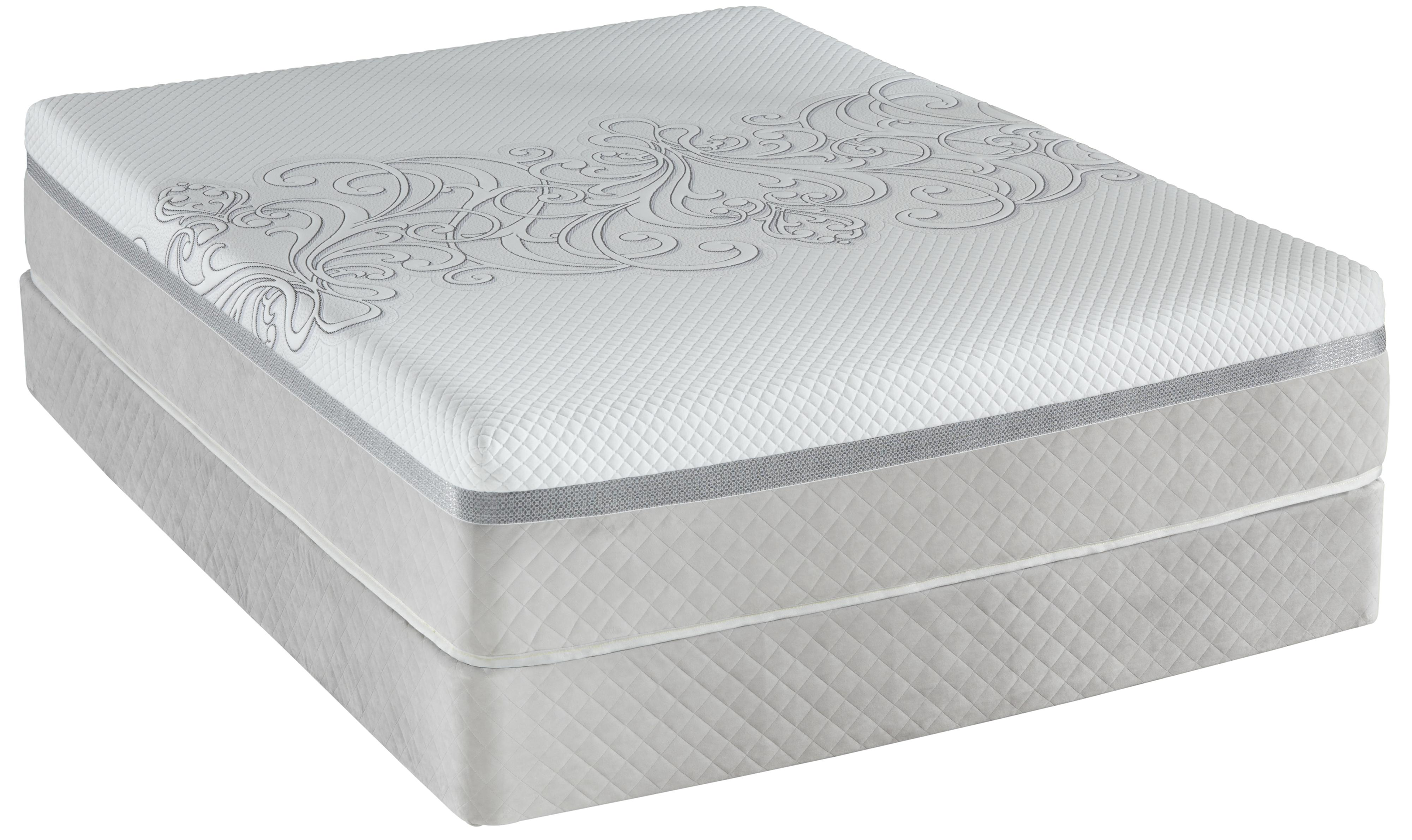 Posturepedic Hybrid Encourage H4 Twin Plush Top Mattress And Foundation By Sealy