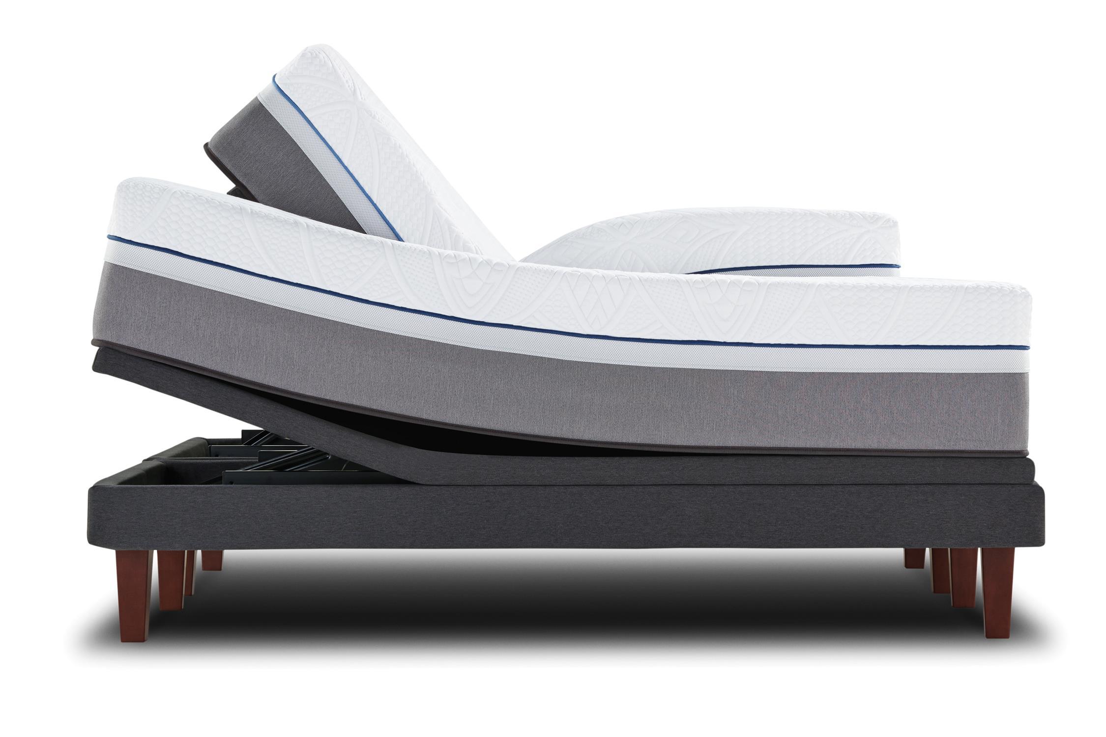 Sealy Posturepedic Hybrid Copper Queen Plush Hybrid Mattress Adj Set - Item Number: PlushHybrid-Q+609663Q