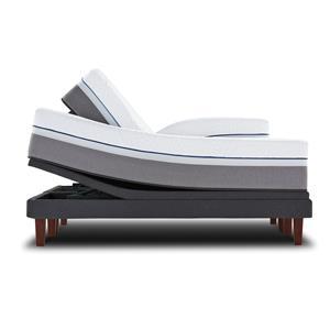 Sealy Posturepedic Hybrid M2 Queen Plush Hybrid Mattress Adj Set