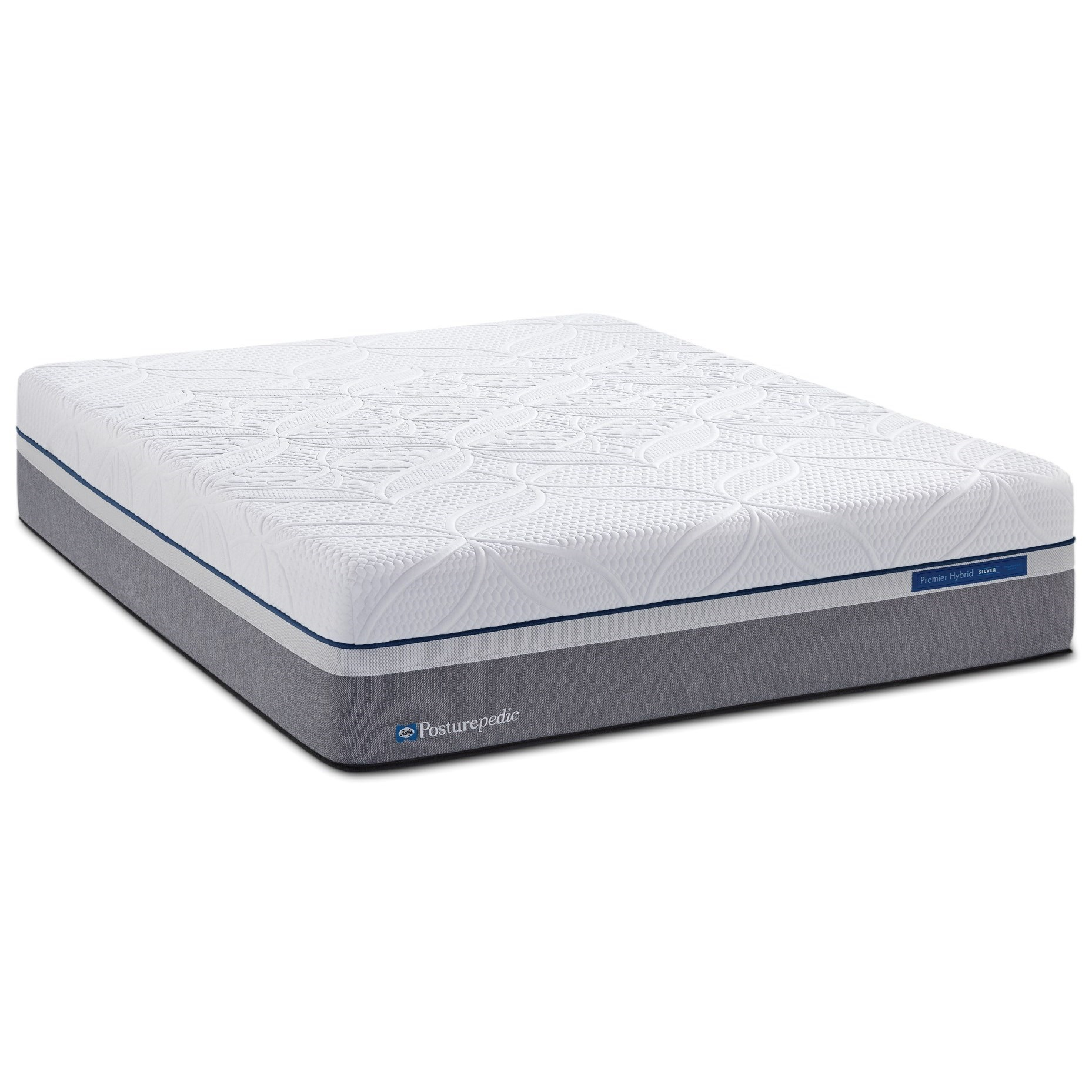 Sealy Silver Plush Cal King Plush Hybrid Mattress - Item Number: PlushHybrid-CK