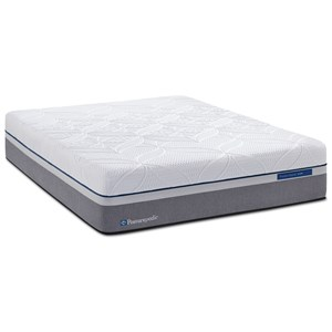 Sealy Silver Plush Queen Plush Hybrid Mattress