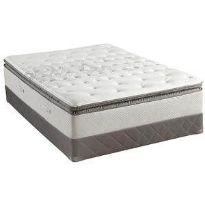 Sealy Posturepedic Gel 2013 Queen Plush Euro Pillow Top Mattress