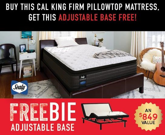 Hidden Lake Cal King Mattress with FREEBIE! by Sealy at Morris Home