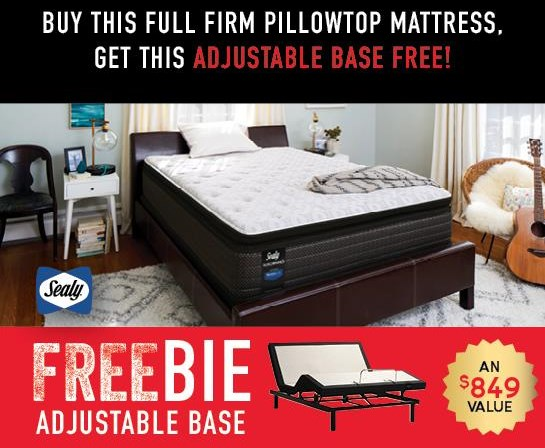 Hidden Lake Full Mattress with FREEBIE! by Sealy at Morris Home