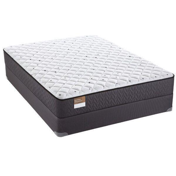 "Full 12 1/2"" Cushion Firm Mattress Set"