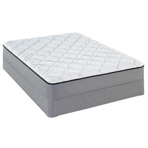 Sealy Sealy Brand Charwood Queen Firm Mattress Set