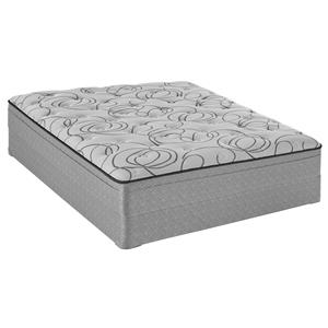 Sealy Narva Twin Plush Faux Euro Top Mattress