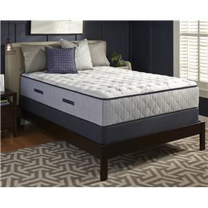 Sealy Level 6  Queen Plush Mattress Set