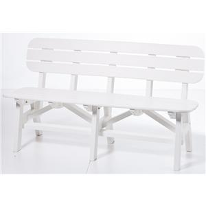 "Seaside Casual Adirondack 60"" Bench"