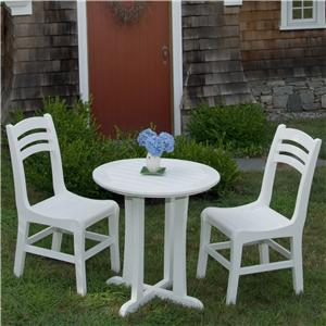 Seaside Casual Westport 3 Piece Outdoor Dining Set
