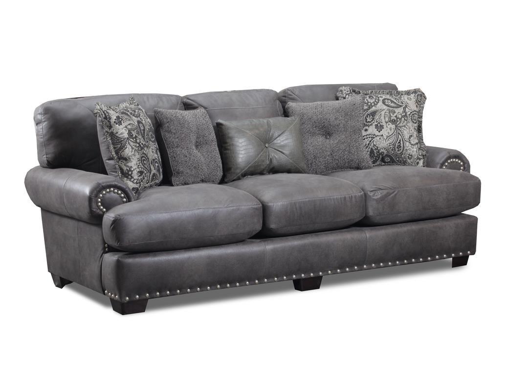 Seminole Furniture 1100-3 Nail Head Sofa - Item Number: 1100-3