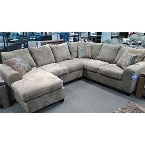 Seminole Furniture 235 5 seat sectional