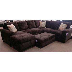 Seminole Furniture 235 5 piece Sectional