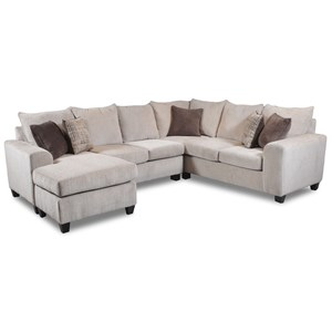 Seminole Furniture 237 5 Seat Sectional