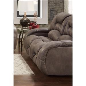 Seminole Furniture Gallop Steel Console Reclining Loveseat