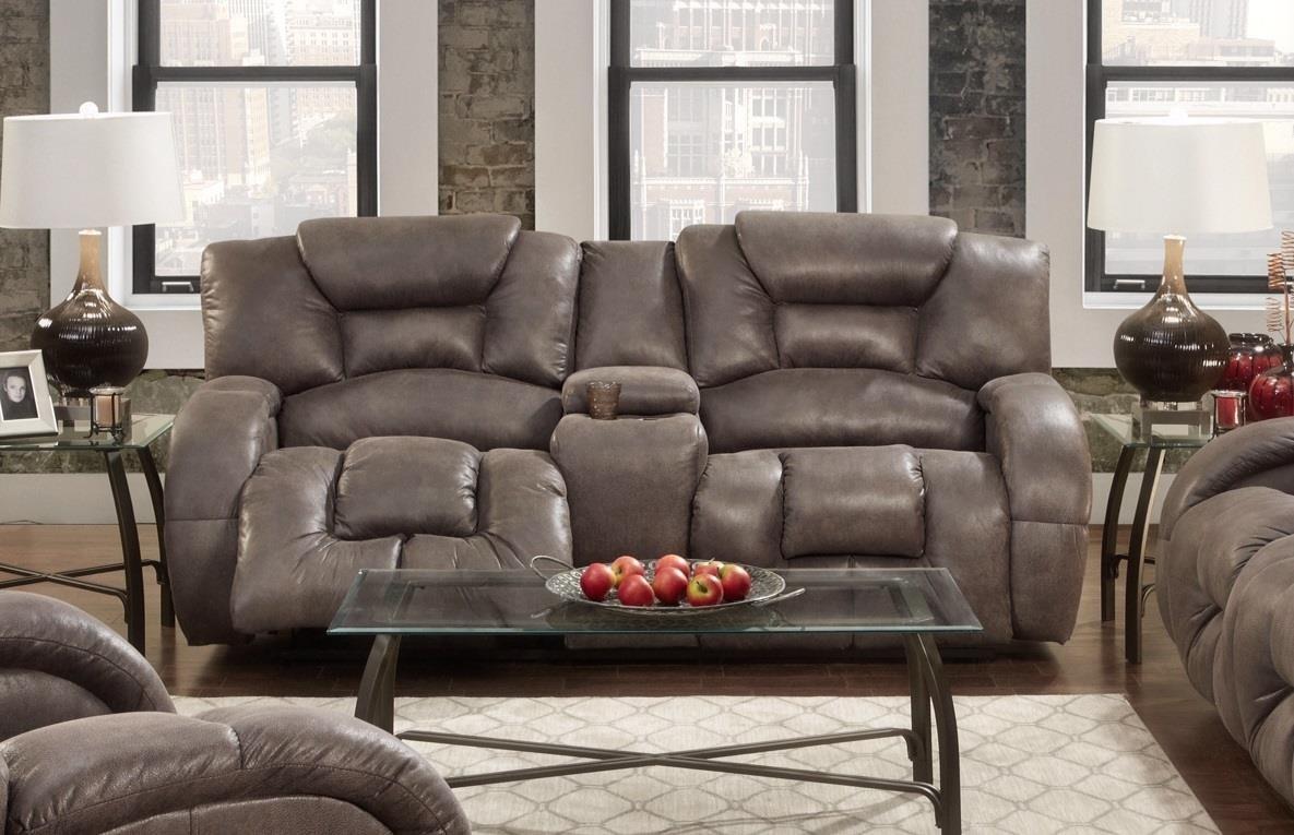 Seminole Furniture Gallop Steel Reclining Sofa - Item Number: SEMI-3500-85 GALLOP-STEEL