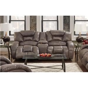 Seminole Furniture Gallop Steel Reclining Sofa
