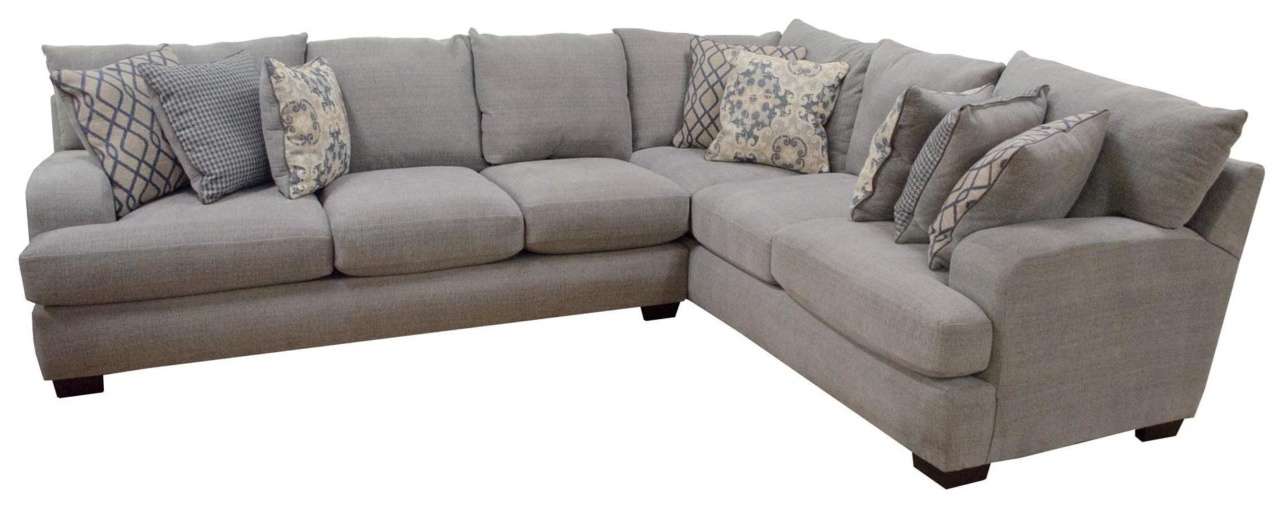 Seminole Furniture Portofino Graphite Sectional - Item Number: GRP-3780-SECTIONAL
