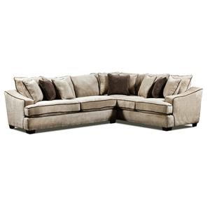 Seminole Furniture 4050 Two piece sectional