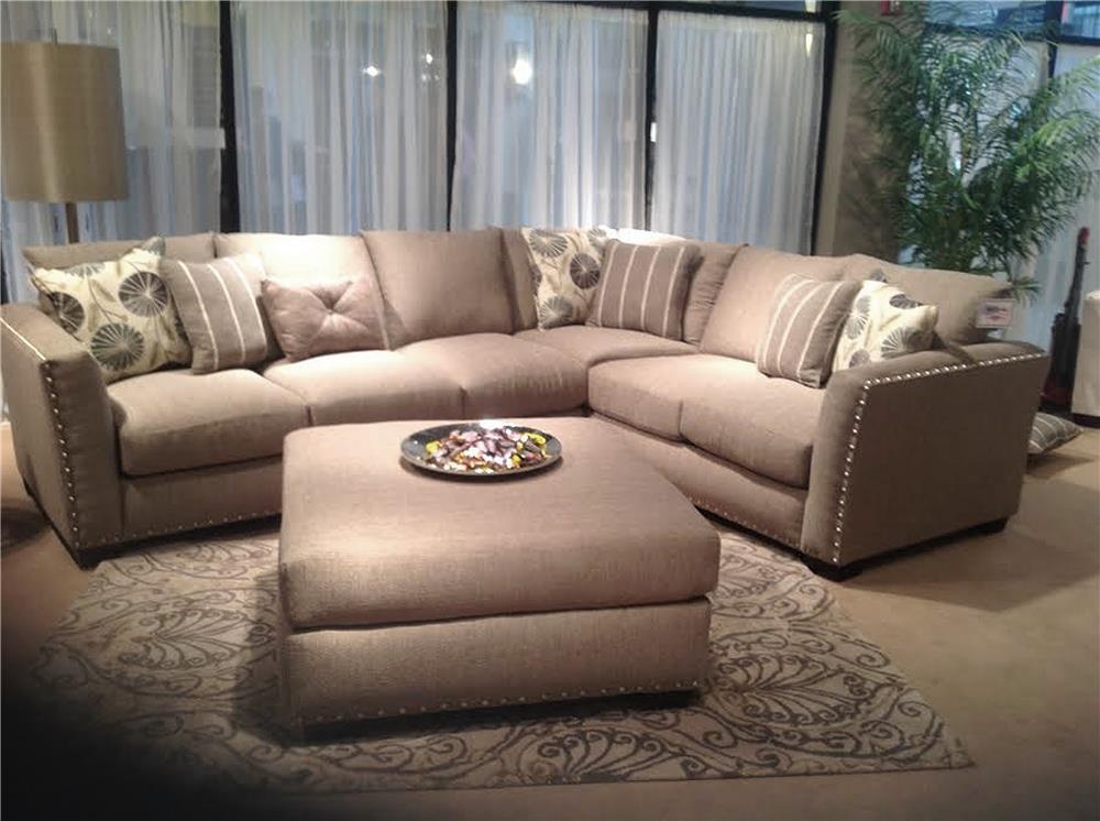 Seminole Furniture 1450 Irish Linen 2pc Sectional - Item Number: 1450