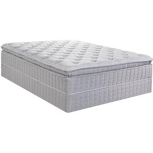 Serta All-Inclusive King Pillow Top Plush Mattress and Foundation